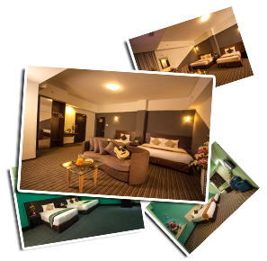 Deluxe Rooms | Thy Executive Hotel Plentong
