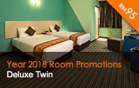 Deluxe Twin at only RM95 | Thy Executive Hotel