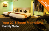 Family Suite at only RM180 | Thy Executive Hotel