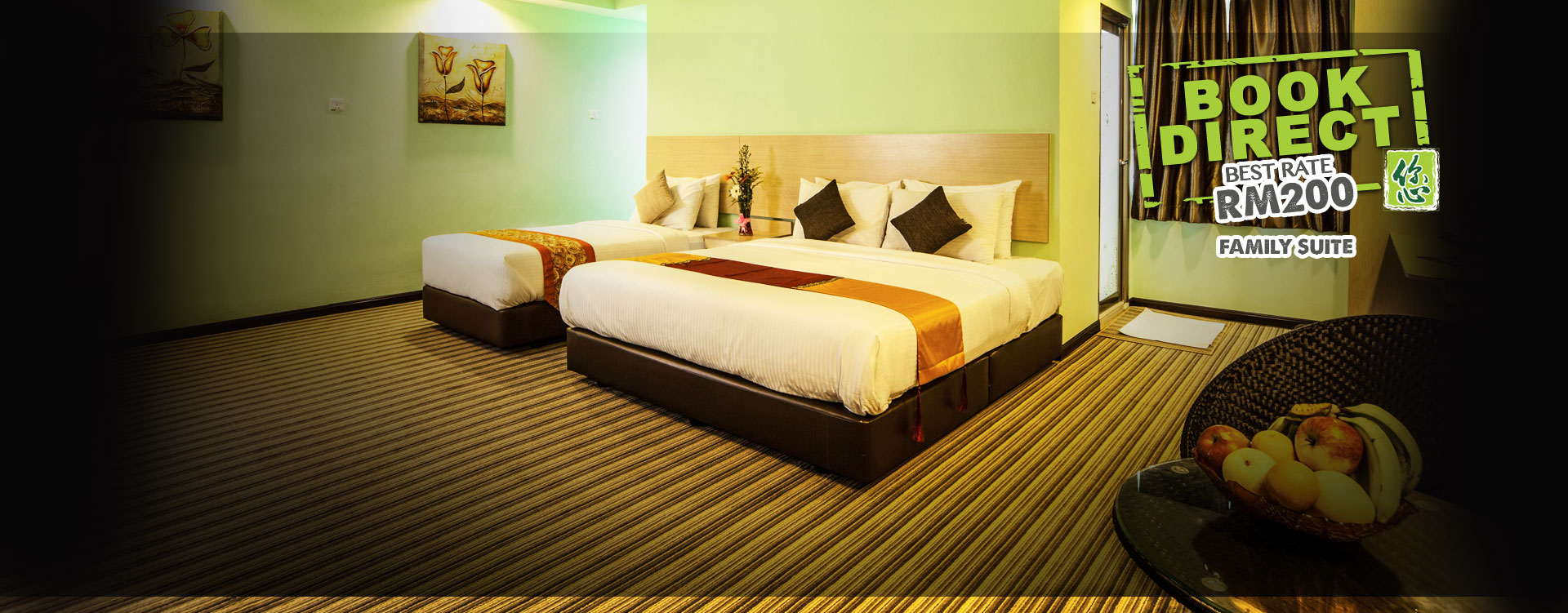 Thy Executive Hotel Family Suite at RM200
