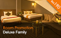 Thy Executive Hotel Deluxe Family at RM190