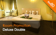 Thy Executive Hotel Deluxe Double Room RM80nett